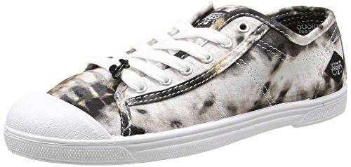 Le Temps des Cerises  Ltc Basic 02,  Damen Sneaker , Schwarz - Schwarz - Noir (Shibori Black) - Größe: 39 - http://on-line-kaufen.de/le-temps-des-cerises/39-eu-le-temps-des-cerises-ltc-basic-02-damen-36