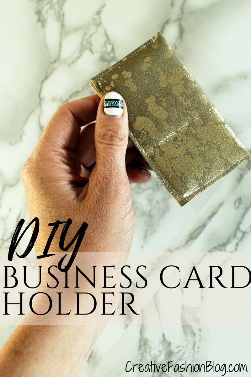 Easy diy business card wallet tutorial wallet tutorial business diy faux suede business card holder wallet tutorial with free printable pdf pattern this tutorial reheart Images