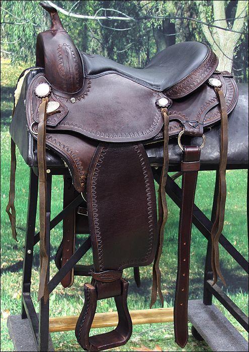 Gs115 hilason gaited western trail pleasure endurance saddle