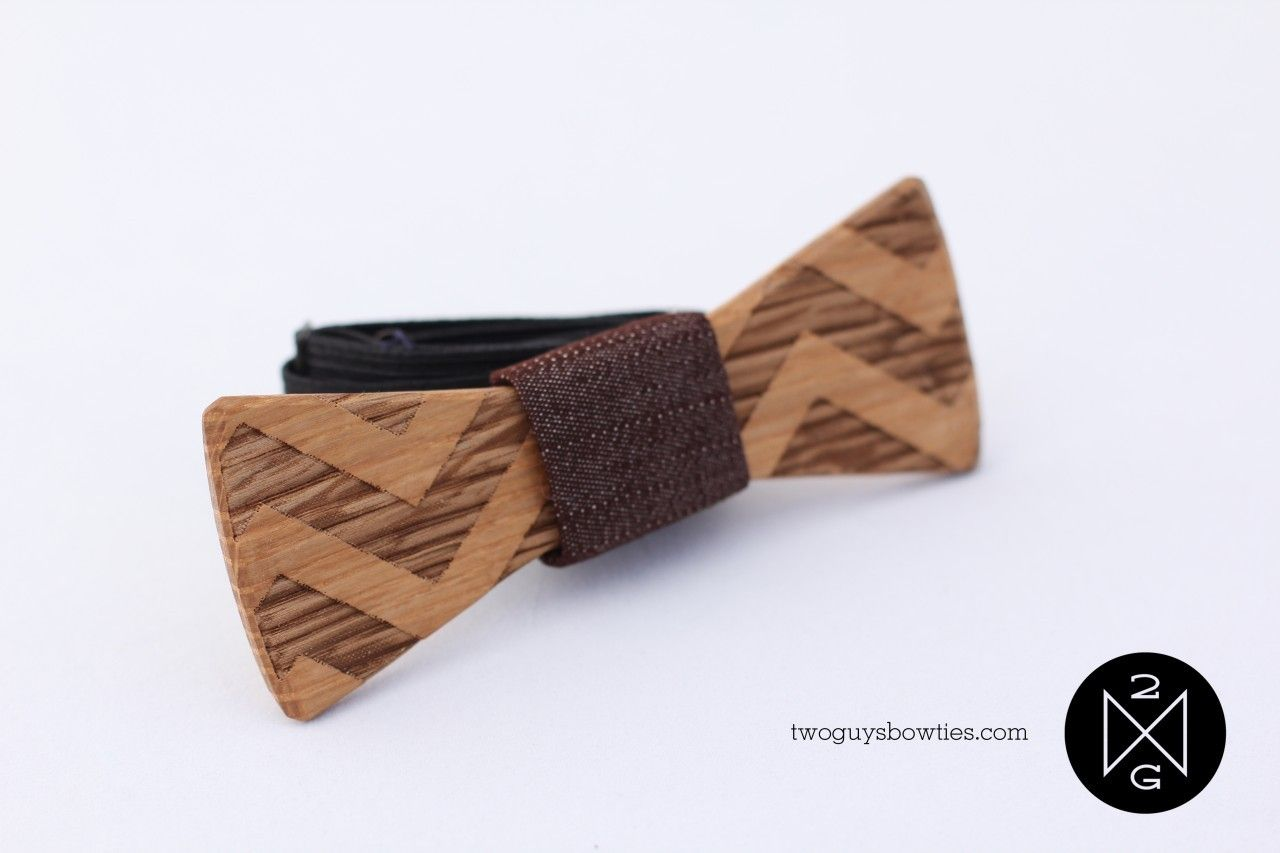Wooden Bow Tie - what all the cool guys are wearing     From the FOLK Magazine Wish List