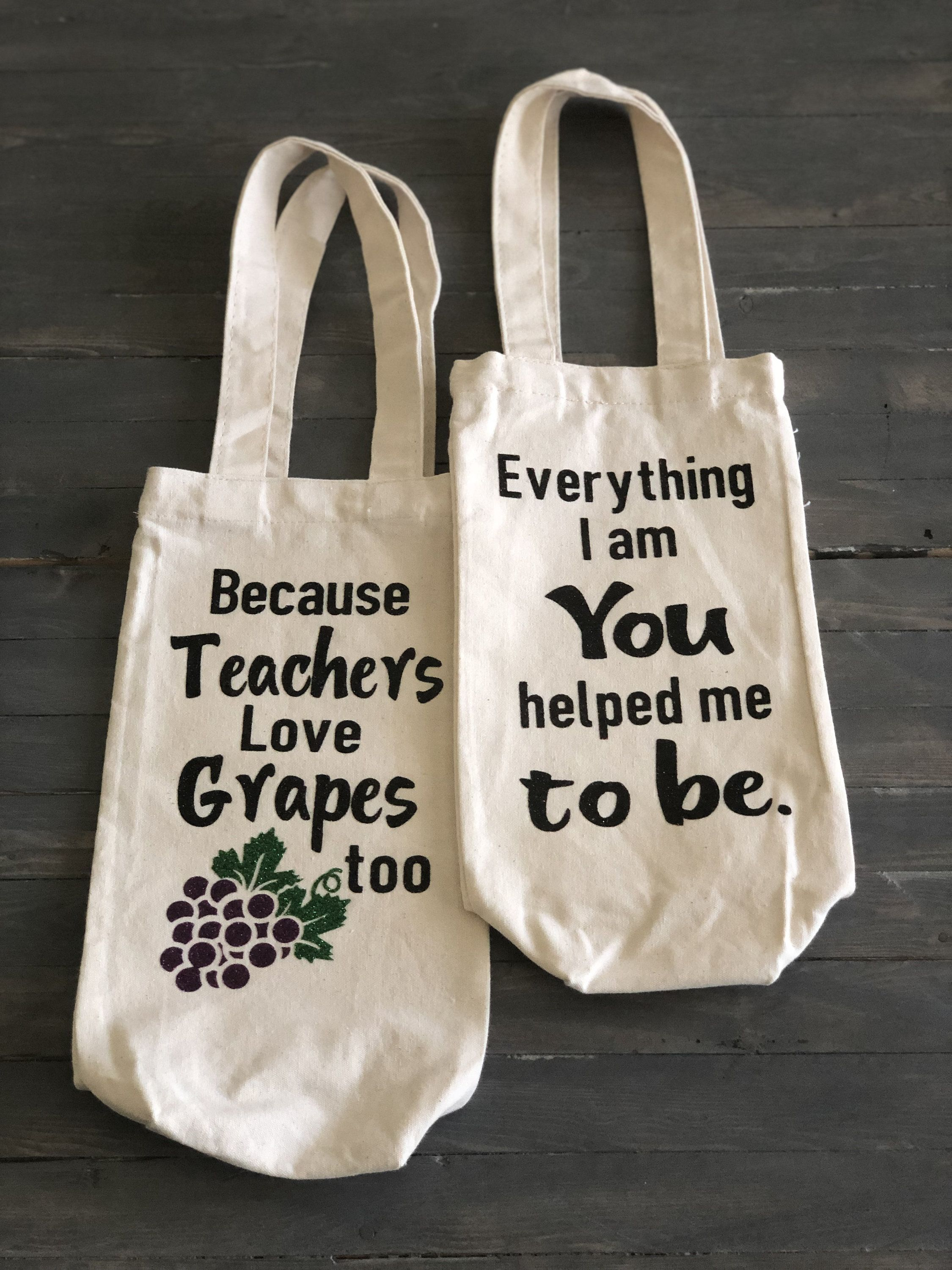 Teacher/'s Marking Bag Personalised Canvas Tote Bag Teacher Thank You Gift