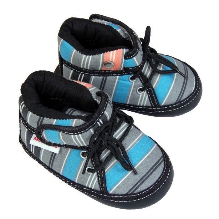 Buy Booties for Boys Girls Unisex Baby - Footwear - Musical Booties With Velcro & Lace Closure-Grey Online India | The Little Shopper