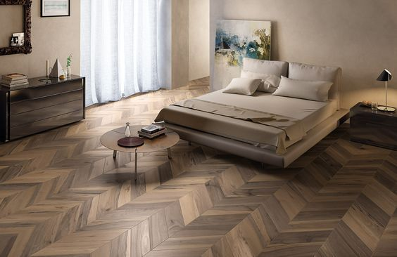 Sienna Mille Noce Wood Porcelain Tile in 6x18 Diagonal Design.  WOW!!!: