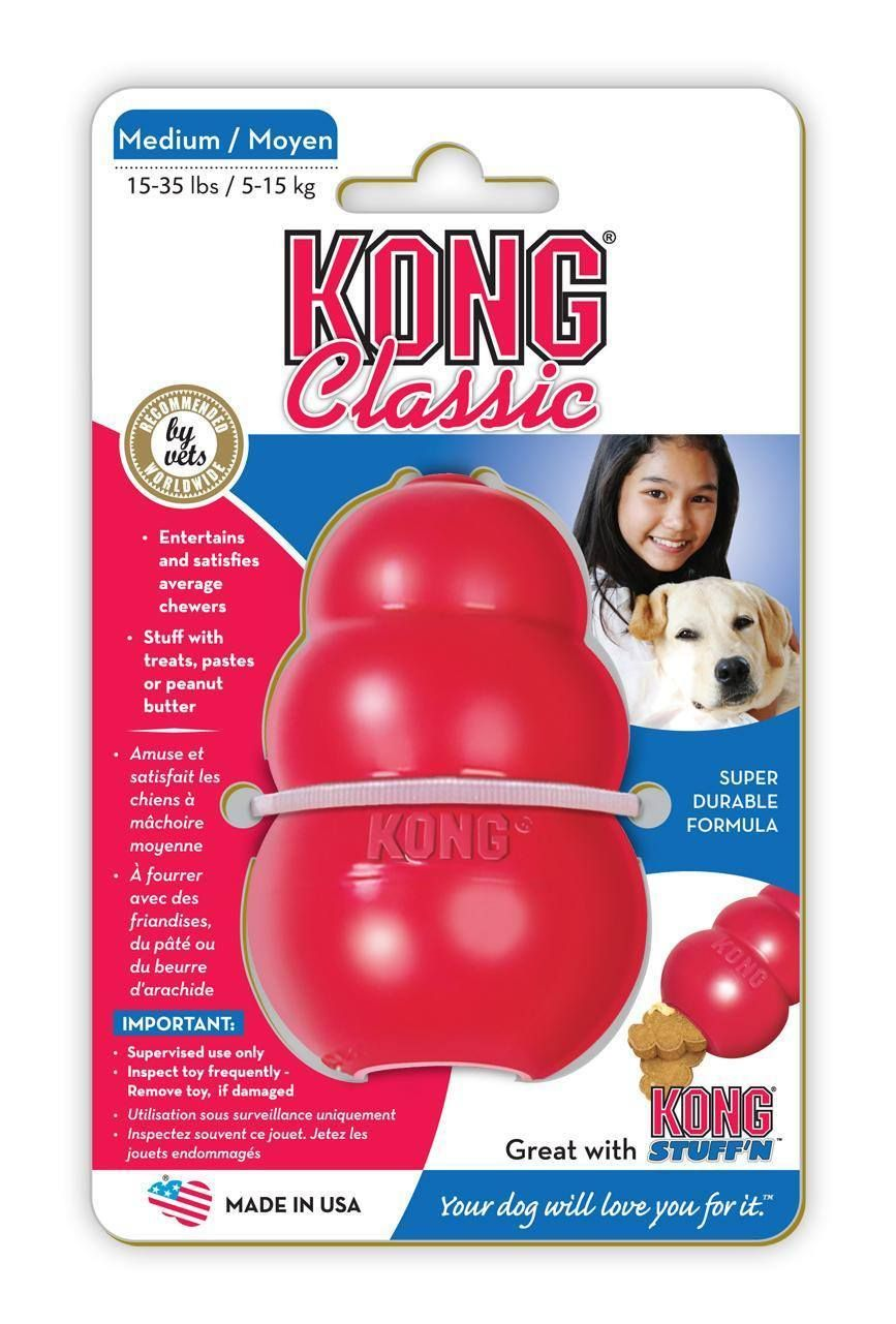 Kong Classic Kong Classic Kong Dog Toys Dog Toys