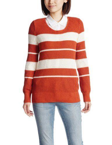 Amazon.co.jp: (ジョルダーノ)GIORDANO Wルーズネックローゲージマルチボーダーカラーニット: 服&ファッション小物