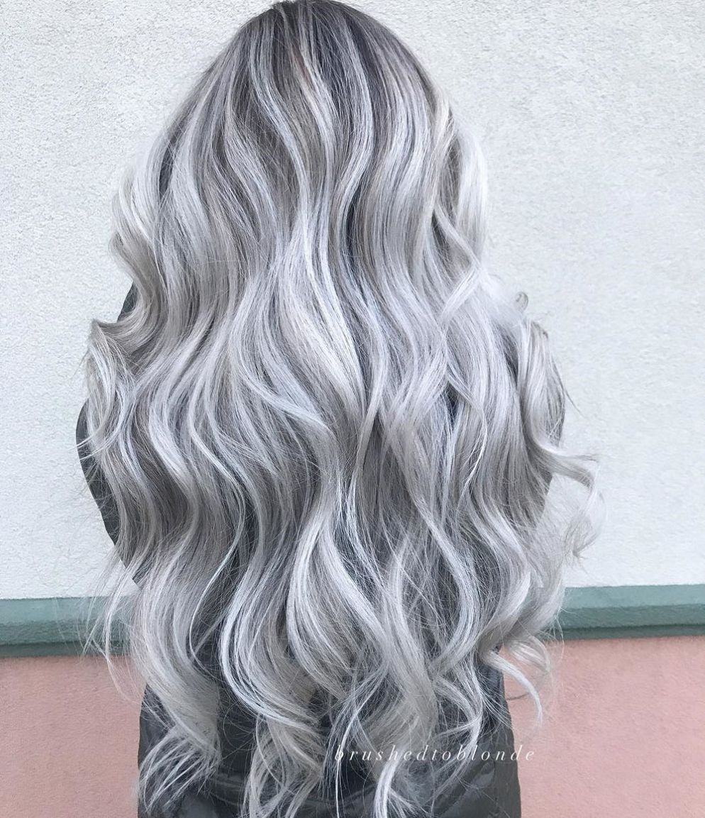 50 Pretty Ideas of Silver Highlights to Try ASAP | Low ...