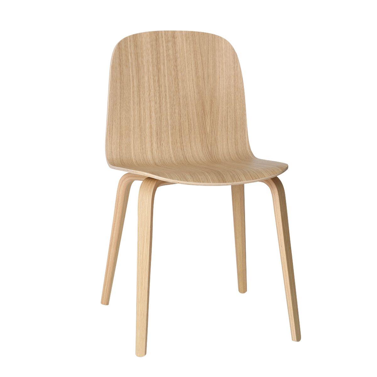Muuto Visu Stuhl Eiche Eiche Eiche Natur T 50 H 80 B 45 Stuhle Skandinavische Esszimmerstuhle Esszimmerstuhle