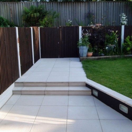 Bradstone, Textured Paving Grey 600 x 600 - 20 Per Pack - Paving