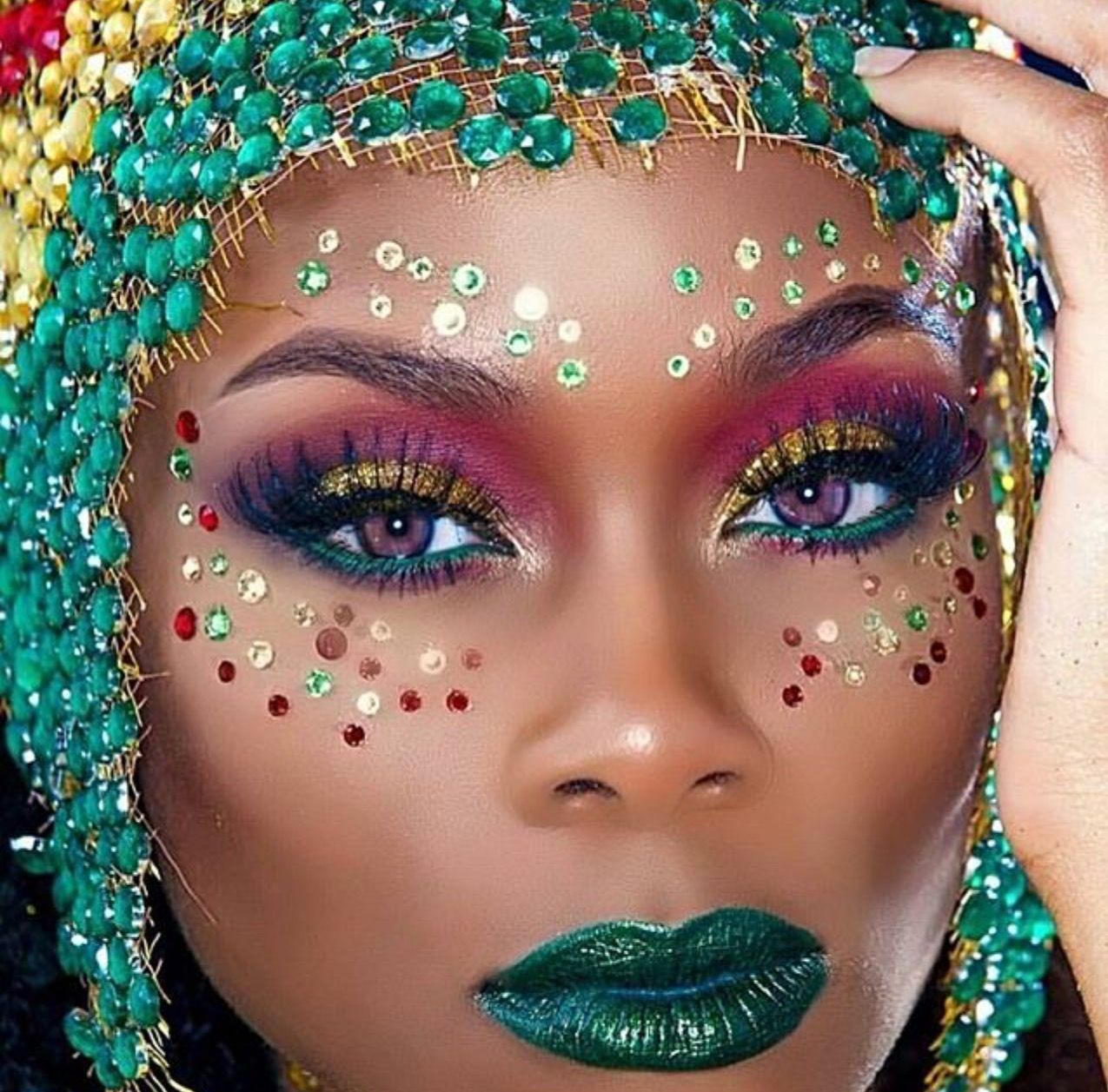 Pin by Nicole Smith on Carnival Makeup and Accessories