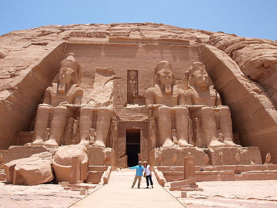 ancient egypt city's Abu Simbel Abu Simbel Egypt