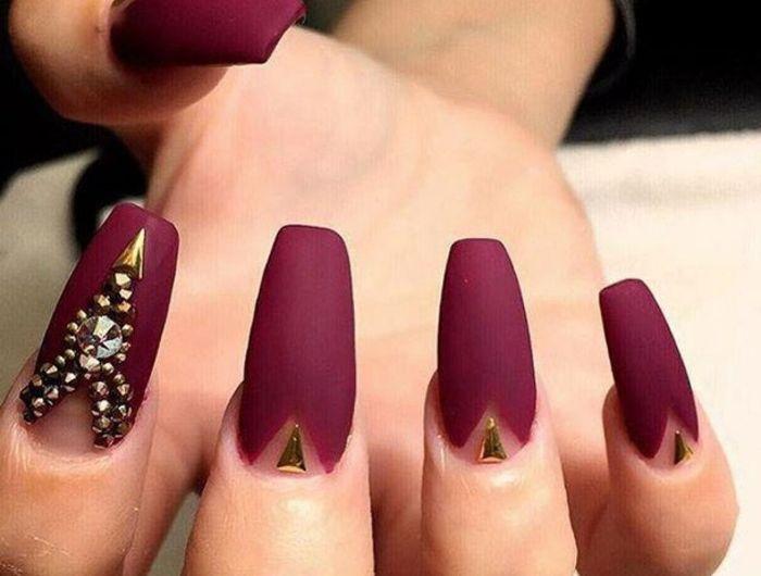 ▷ 1001 + idées pour le nail art mat qui vont vous donner un sourire ...