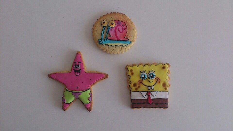 Galletas bobesponja / spongebob cookies
