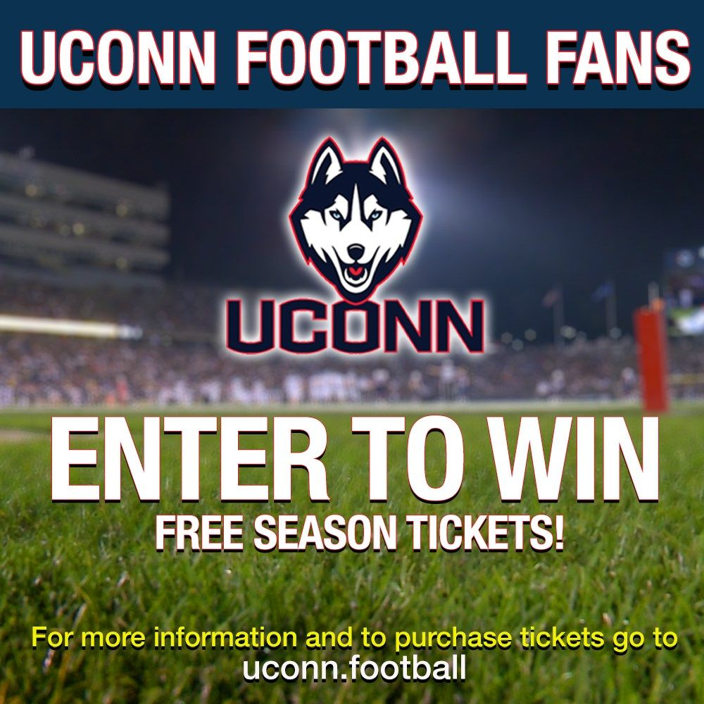 Enter here and you could win UConn football season tickets