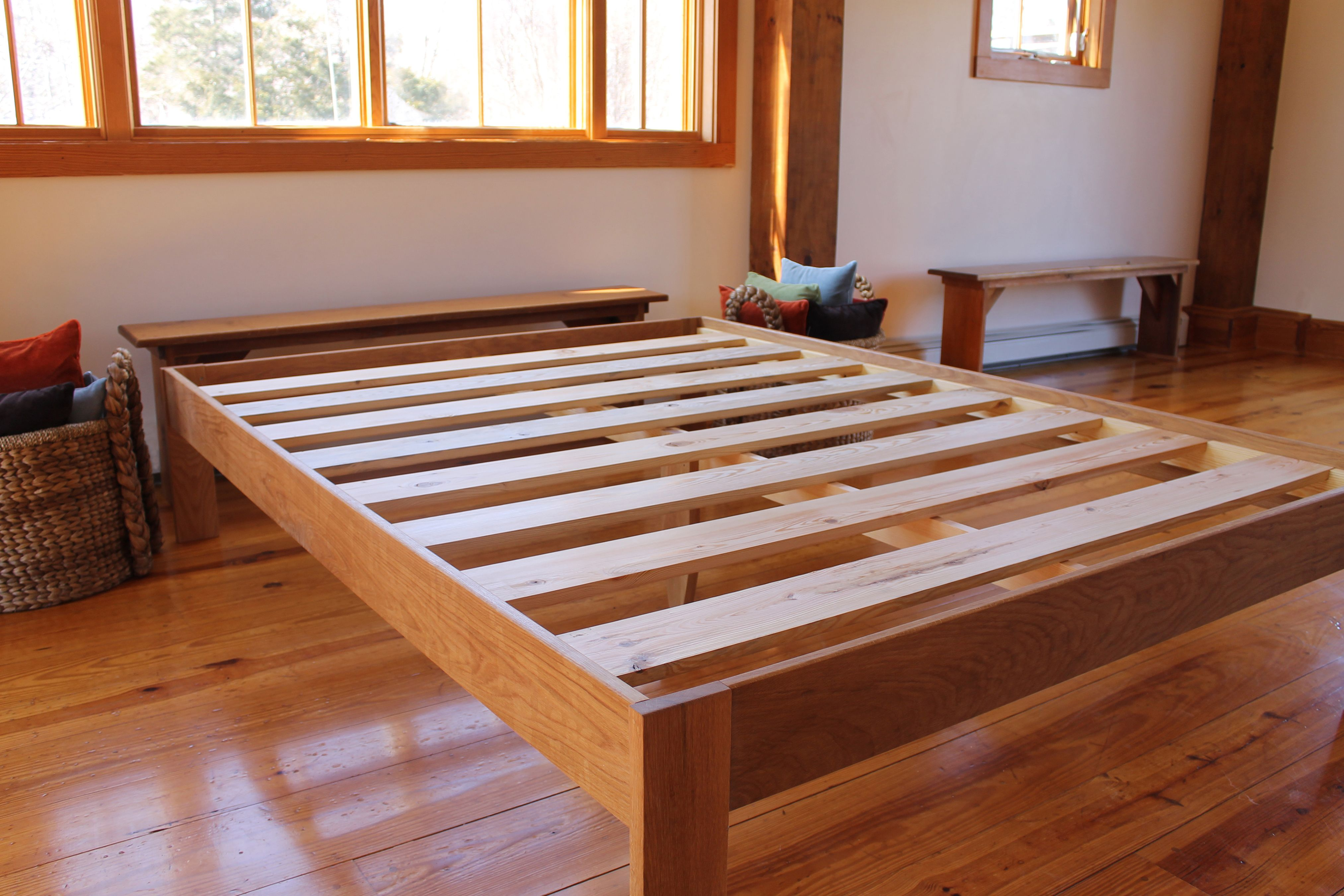 Easy To Assemble, These Frames Have Locking Bed Brackets And