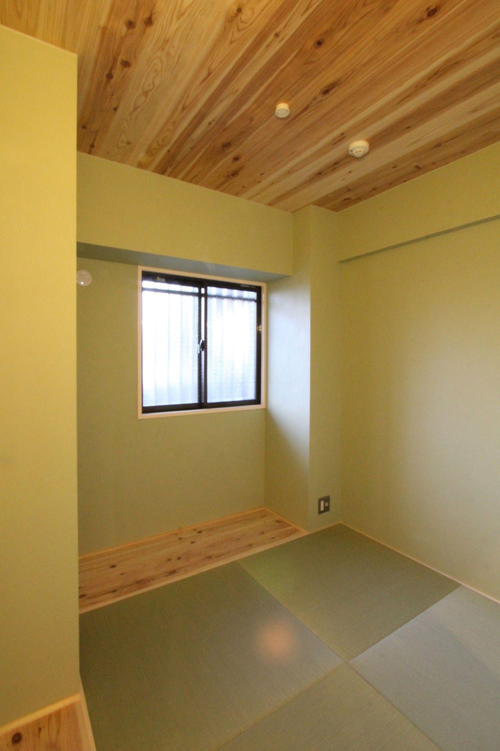 和室 天井板張り フィールドガレージ Fieldgarage Inc リノベーション 和室 天井板 リノベーション インテリア 内装