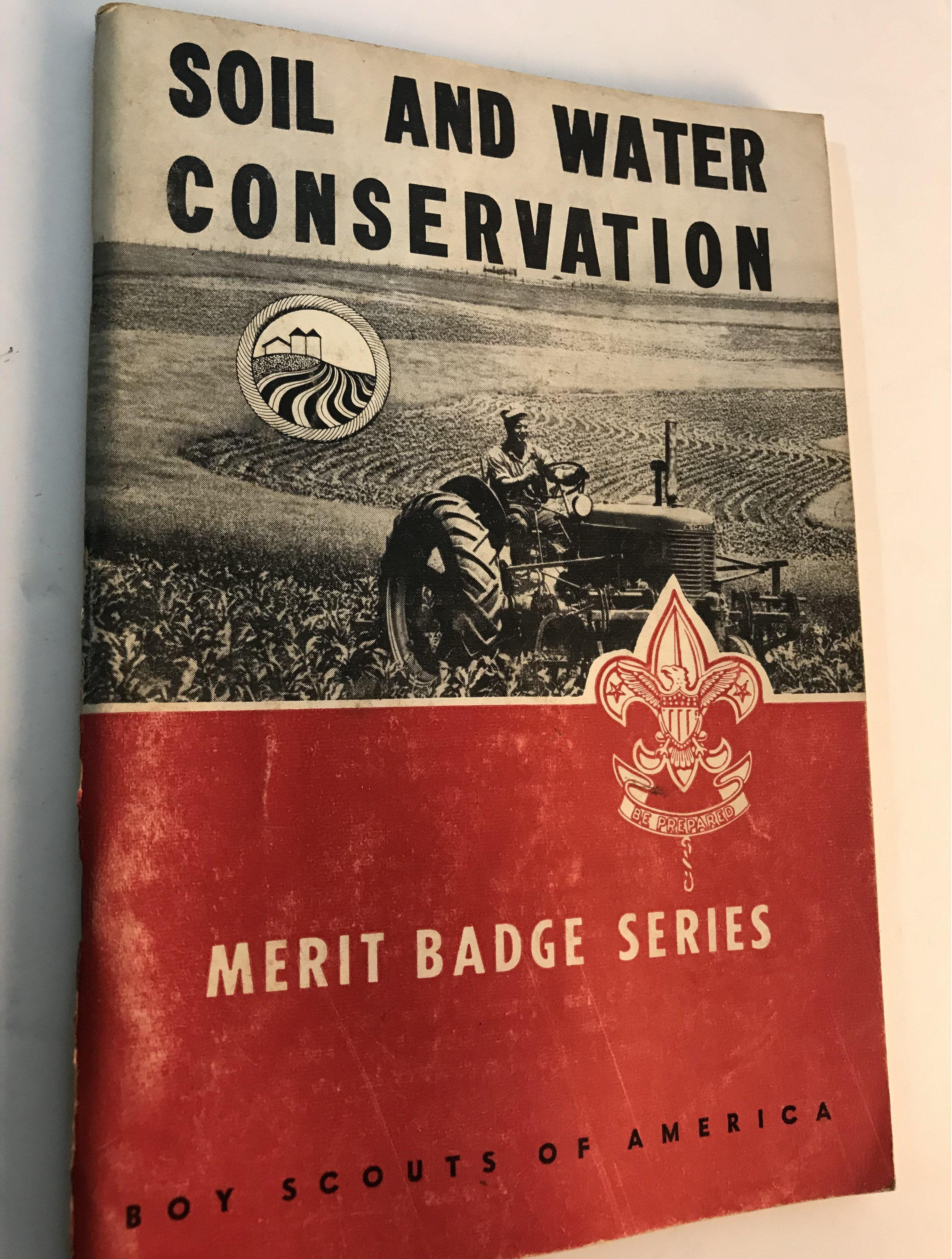 Boy Scouts Of America Merit Badge Series Book Soil And