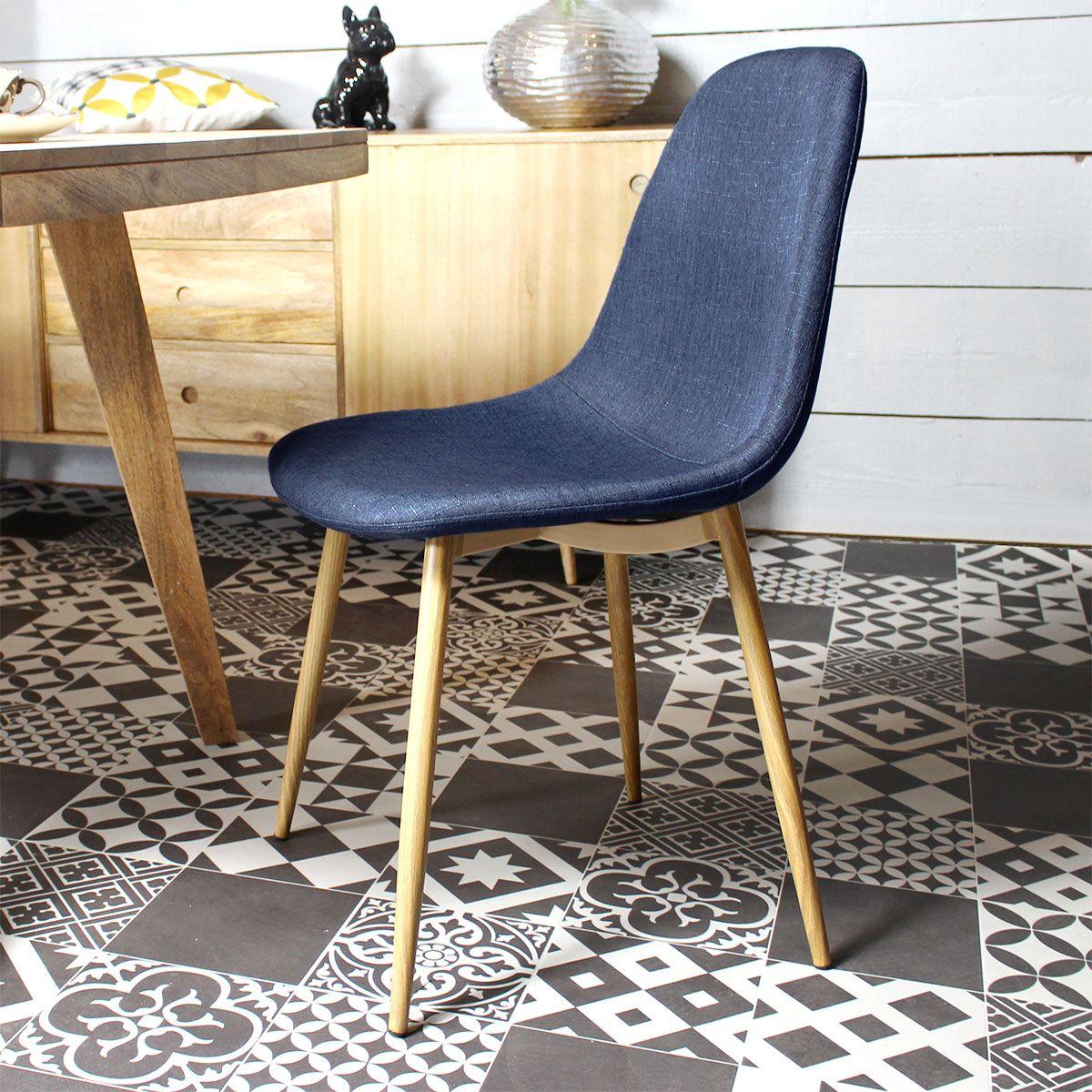 Cette chaise aux allures scandinaves va vous faire craquer son design tout en simplicité