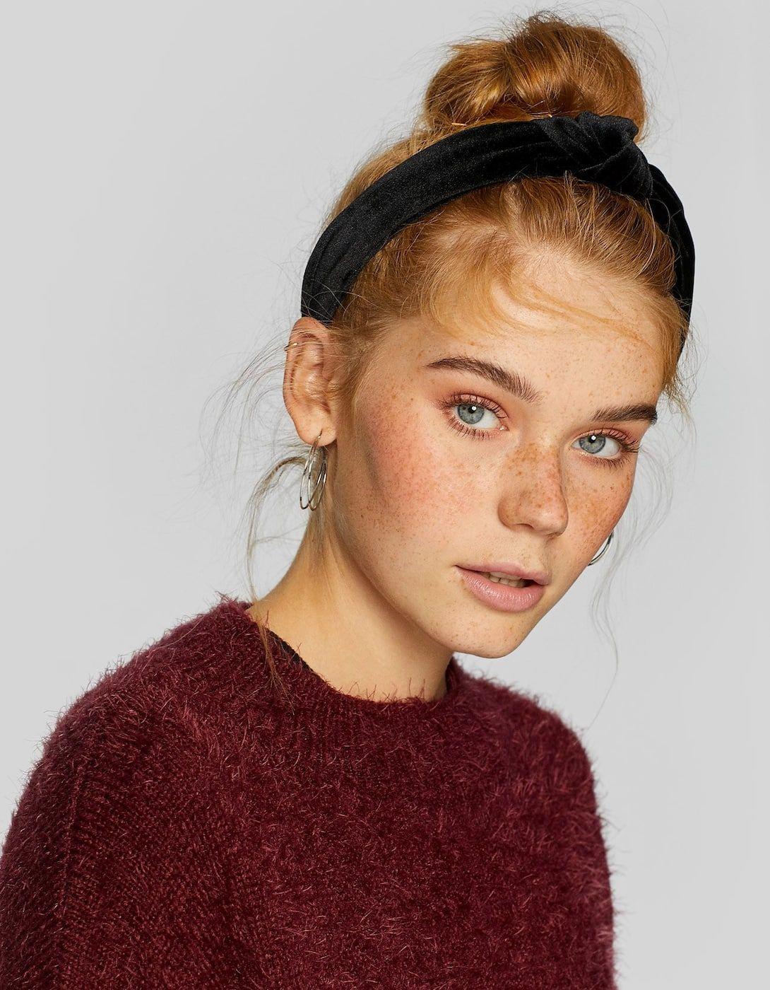 rigid velvet headband | wardrobe in 2019 | headband