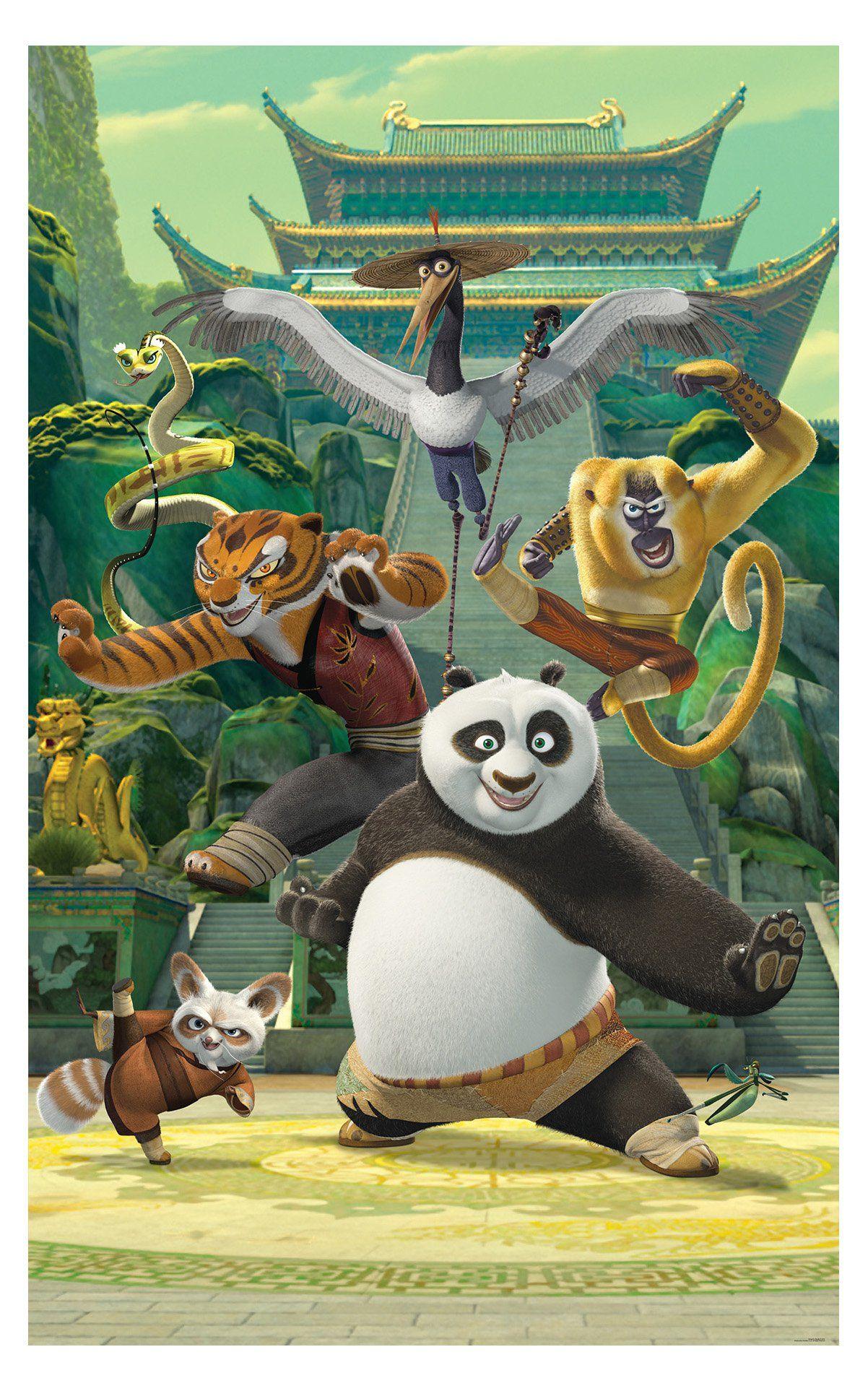 Walltastic Kung Fu Panda Wall Mural