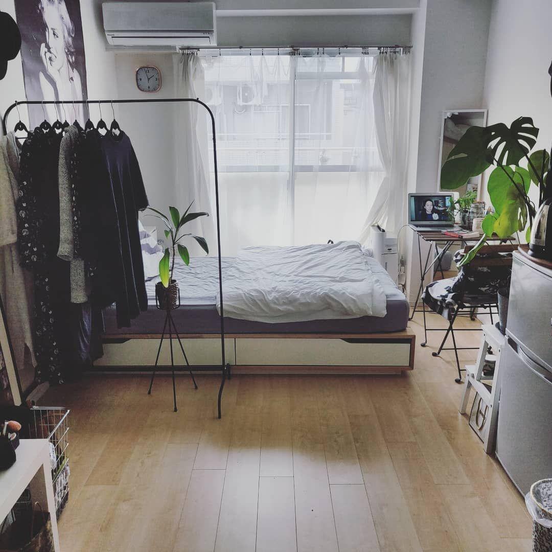 リビング Ikea 1ldk 一人暮らし 1ldk 1人暮らし などのインテリア実例 2017 11 25 15 44 00 Roomclip ルームクリップ 部屋 レイアウト インテリア インテリア 実例