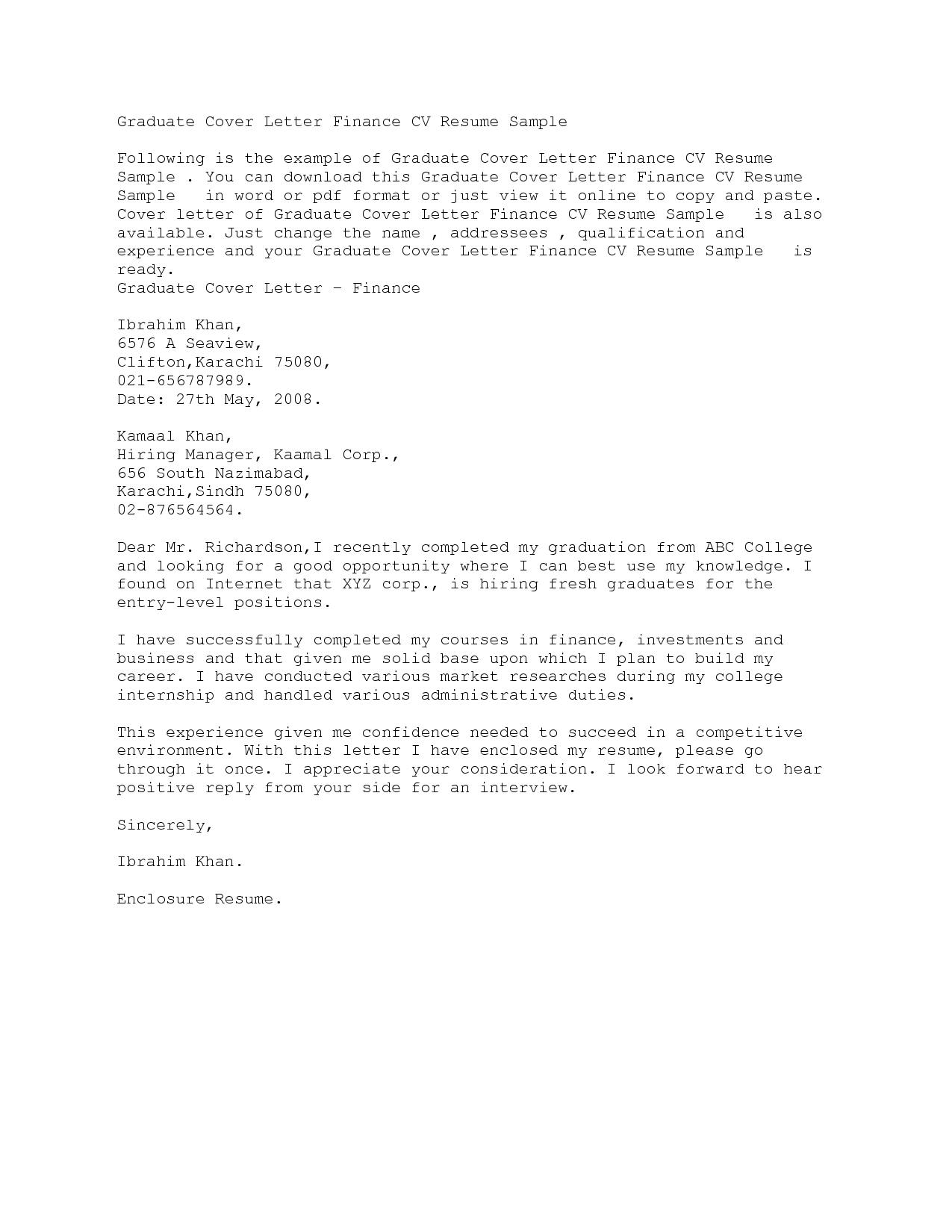 Statistician Resume Cover Letter  HttpWwwResumecareerInfo