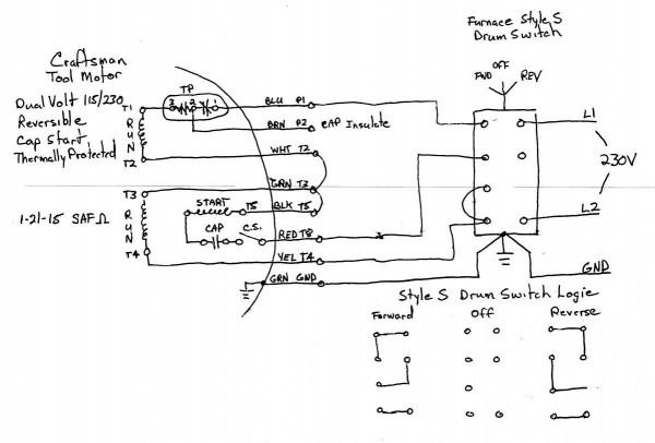 3 wire motor control circuit