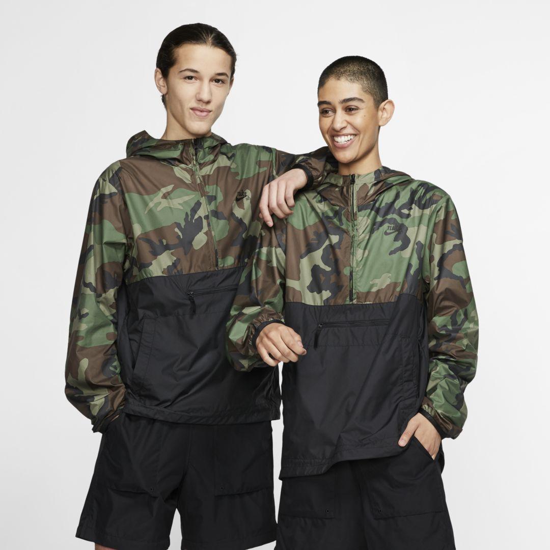 Nike Sb Anorak Jacket Camo