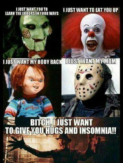 Its scary movie season!!! If only we could know those ... |Its Scary Movie Time Meme