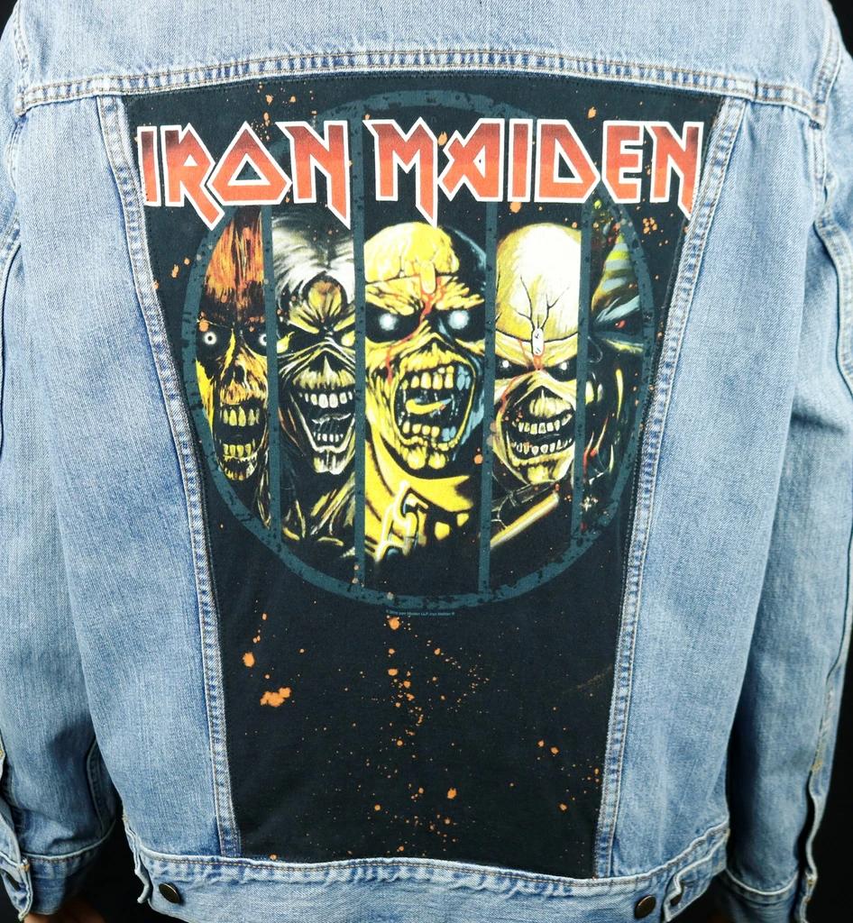 Iron Maiden Levis Denim Jacket Blue Jean Men S 2xl Classic Cotton Co Blue Jeans Mens Levi Denim Jacket Mens Pants Fashion [ 1024 x 946 Pixel ]