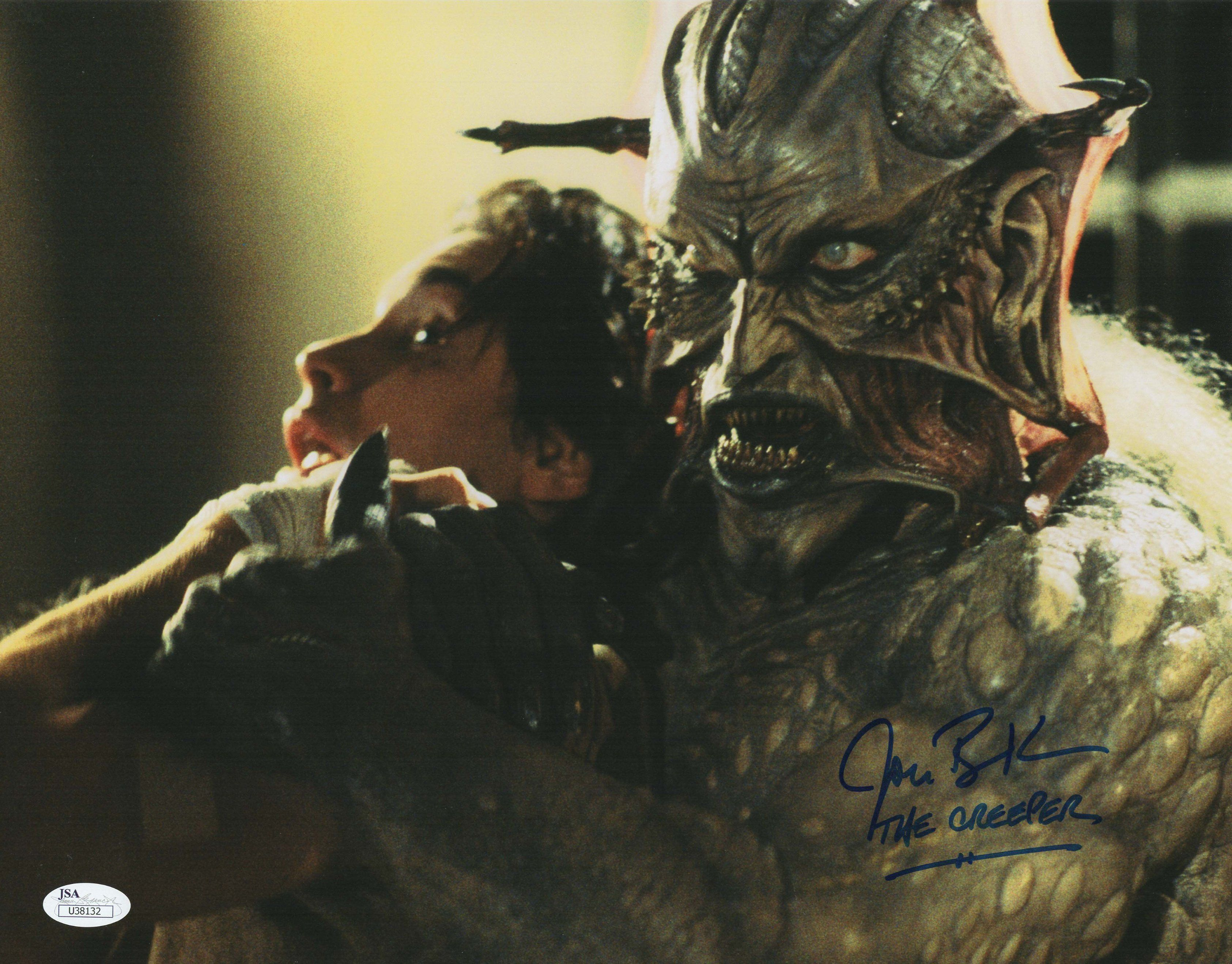 Jonathan Breck Authentic Signed 11x14 Photo Jeepers Creepers The