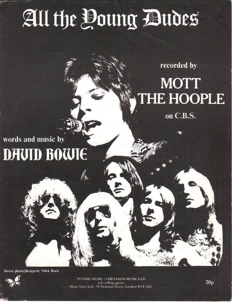 Davidbowie 1972 Ziggystardust All Young Dudes Mott The Hoople Mott The Hoople Hoople Music Concert Posters