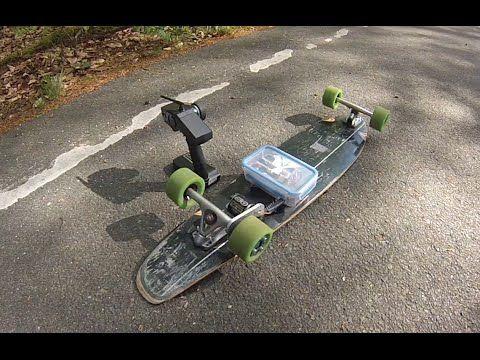 40 Km H Diy Electric Longboard Youtube Tech Velo