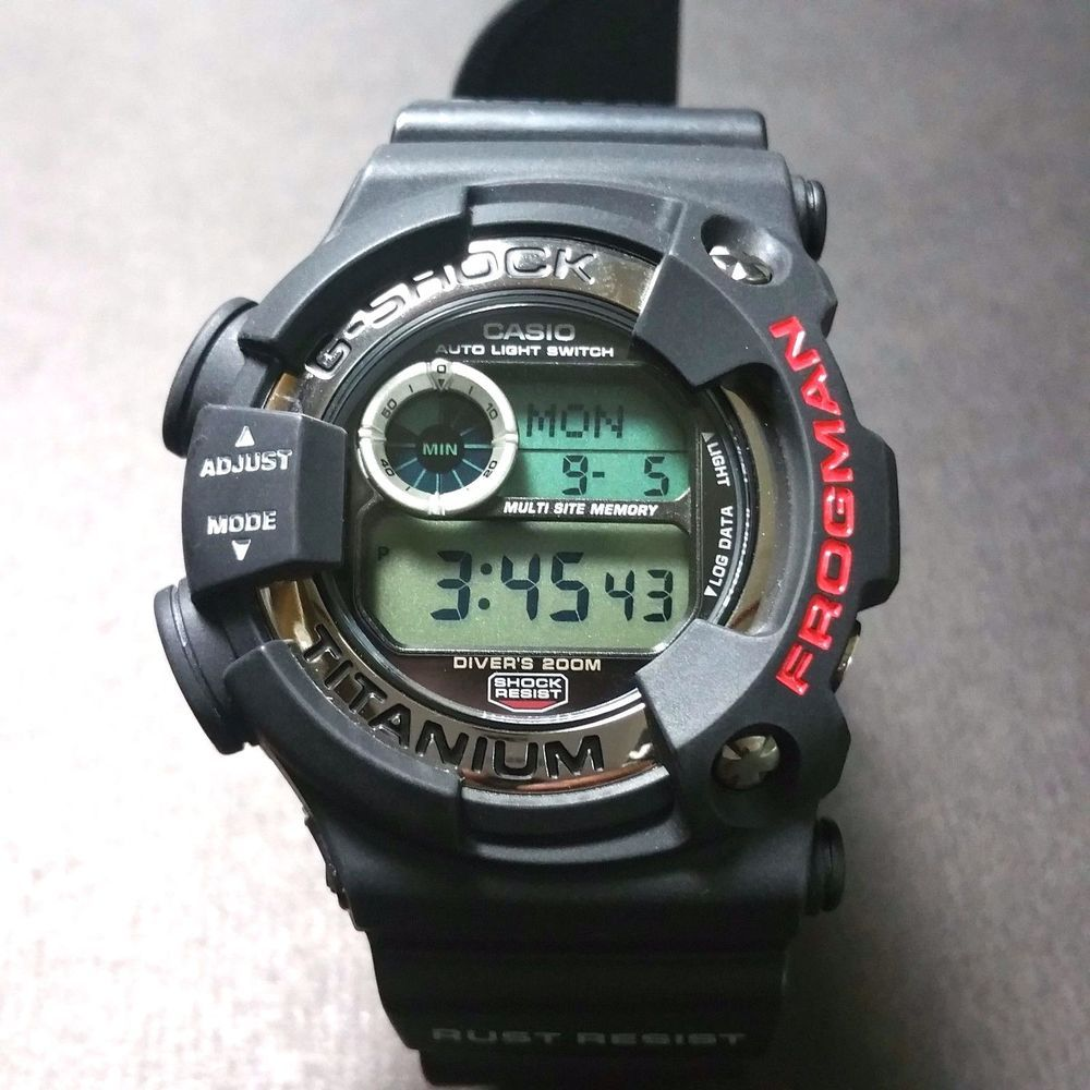 2b67b5bf37e G-SHOCK FROGMAN DW-9900-1A RARE DW- 9900 SERIES JAPAN IMPORT  GSHOCK  DIVING