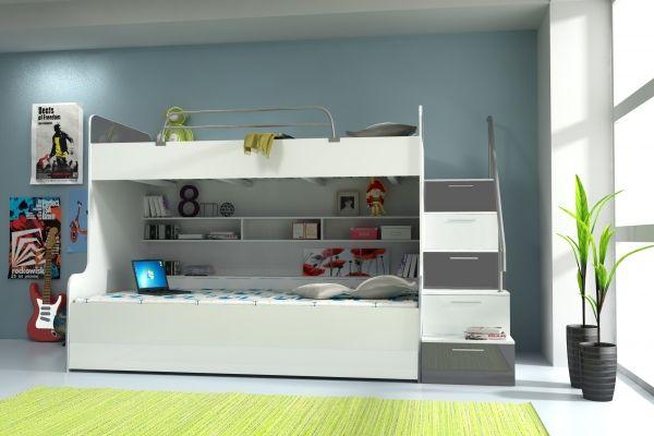 Etagenbett Jugendzimmer : Jugendzimmer hochbett mit sofa design mudchen