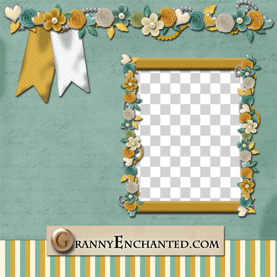Granny Enchanteds Free Digital Scrapbook Kits Diy Pinterest