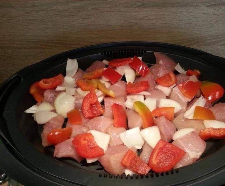 Tinas Spezialrezept Fleisch mit Schaschliksoße