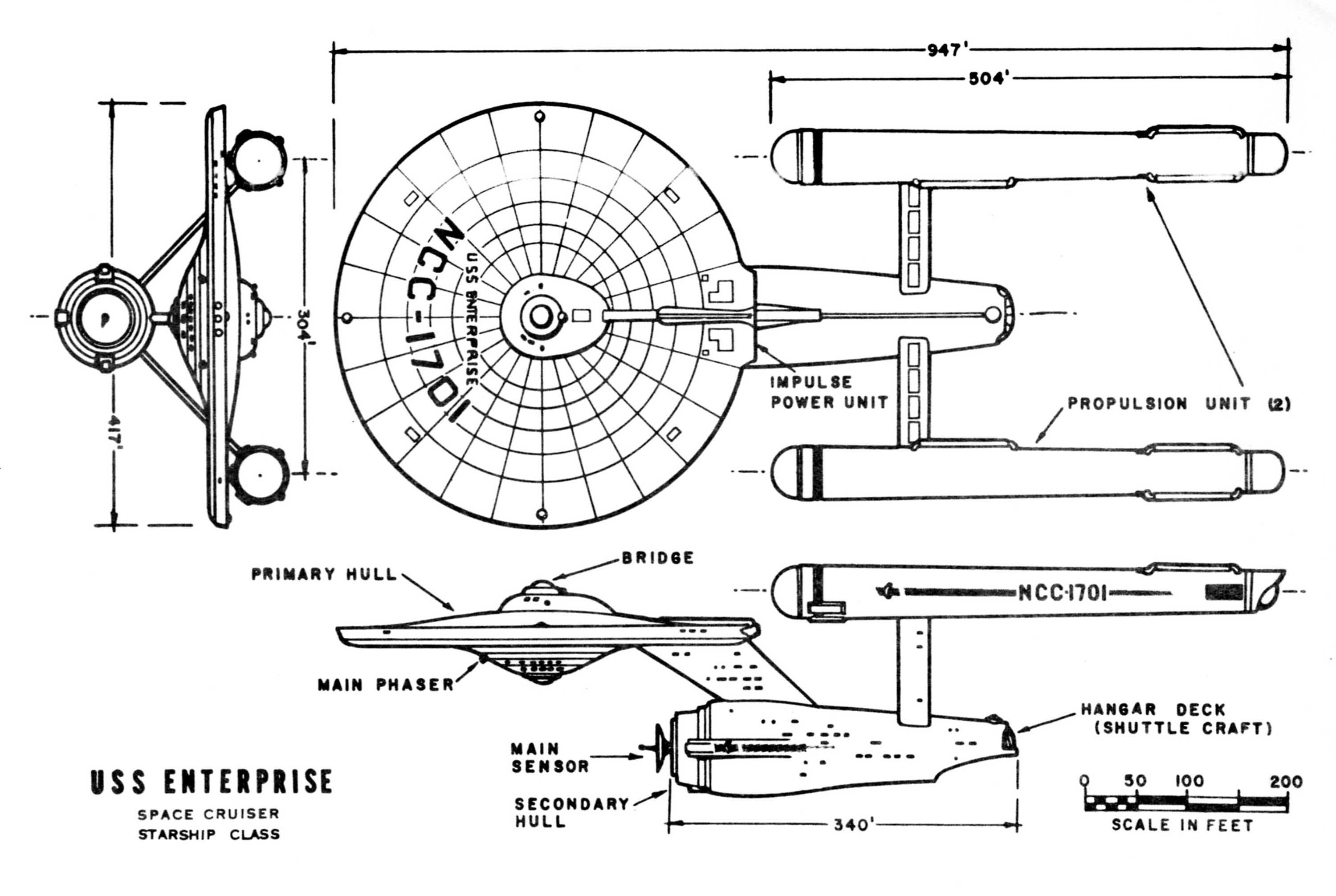 Enterprise Technical Drawings Star Trek Poster Star Trek Star Trek Tattoo