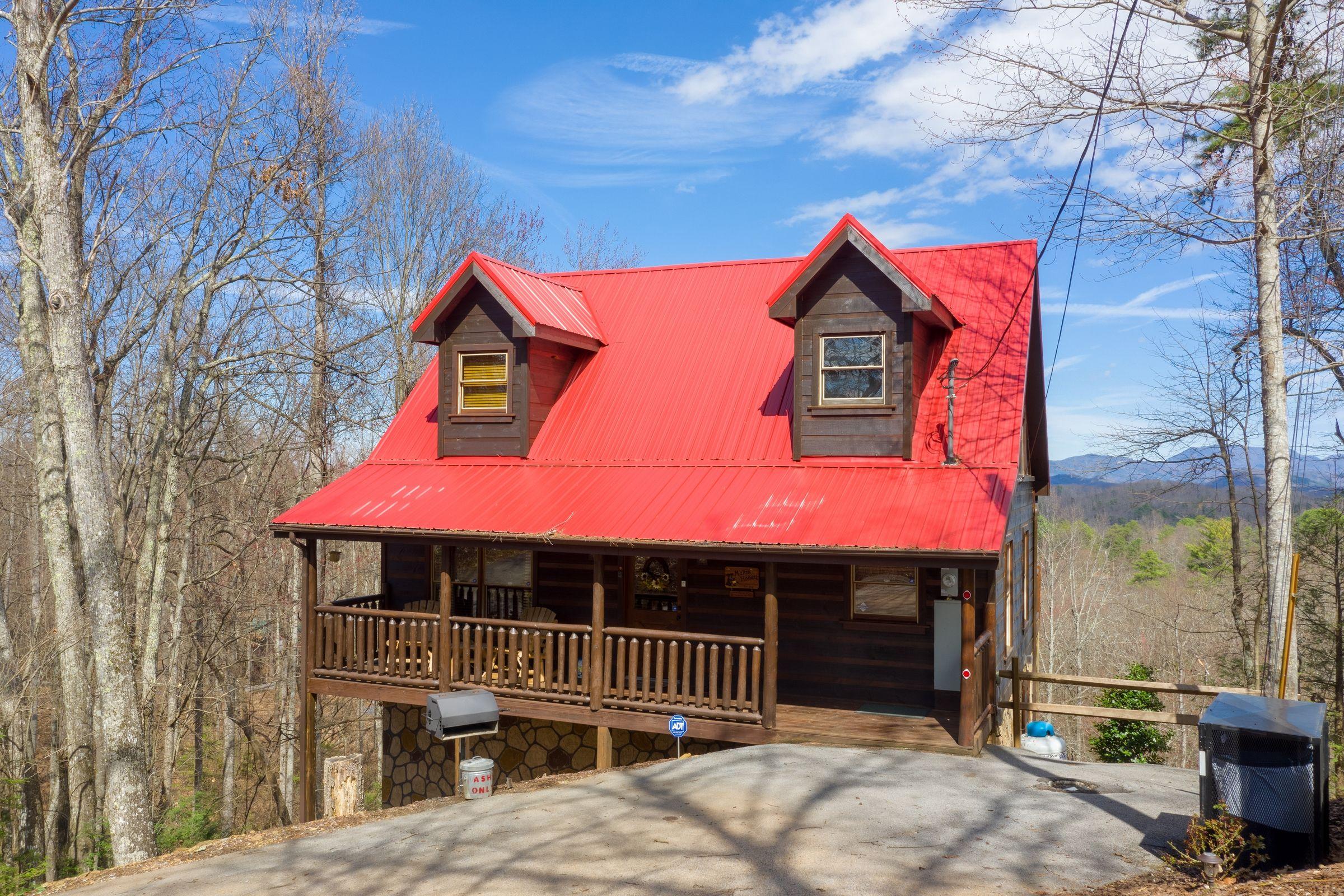 Makin Honey Luxury Plus 1 Bedroom Pigeon Forge Cabin Rental Pigeon Forge Cabin Rentals Cabin Gatlinburg Cabin Rentals
