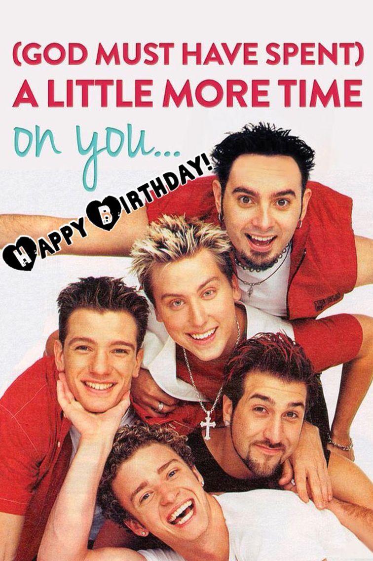 Happy Birthday From Nsync Erikabridge Nsync Boy Bands Backstreet Boys