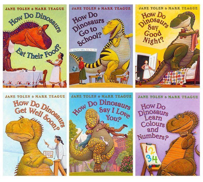 how do dinosaurs go to school book