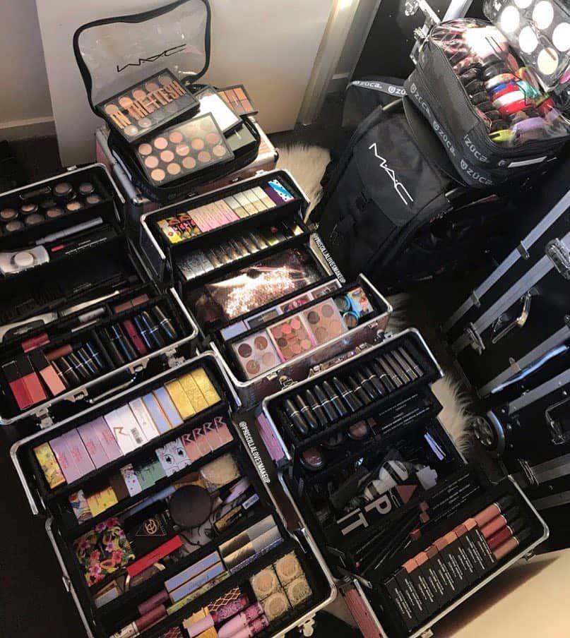 Collection Of Professional Makeup Kits Makeup Kit Professional Makeup Kit Beauty Studio