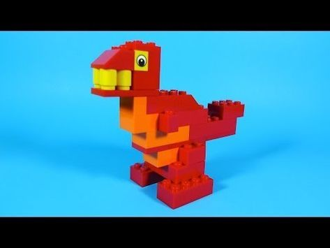 How To Build Lego Dinosaur 4630 Lego Build Play Box Building