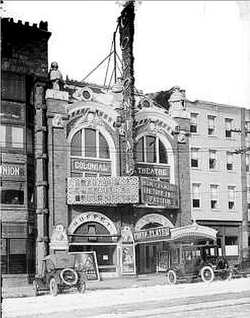 The Colonial Theater Located At 40 West Broad Street In Columbus