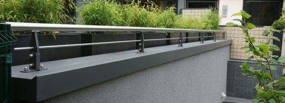 Gut bekannt Innovative System-Mauerabdeckung auch mit Geländer von Metall-Lang RW66