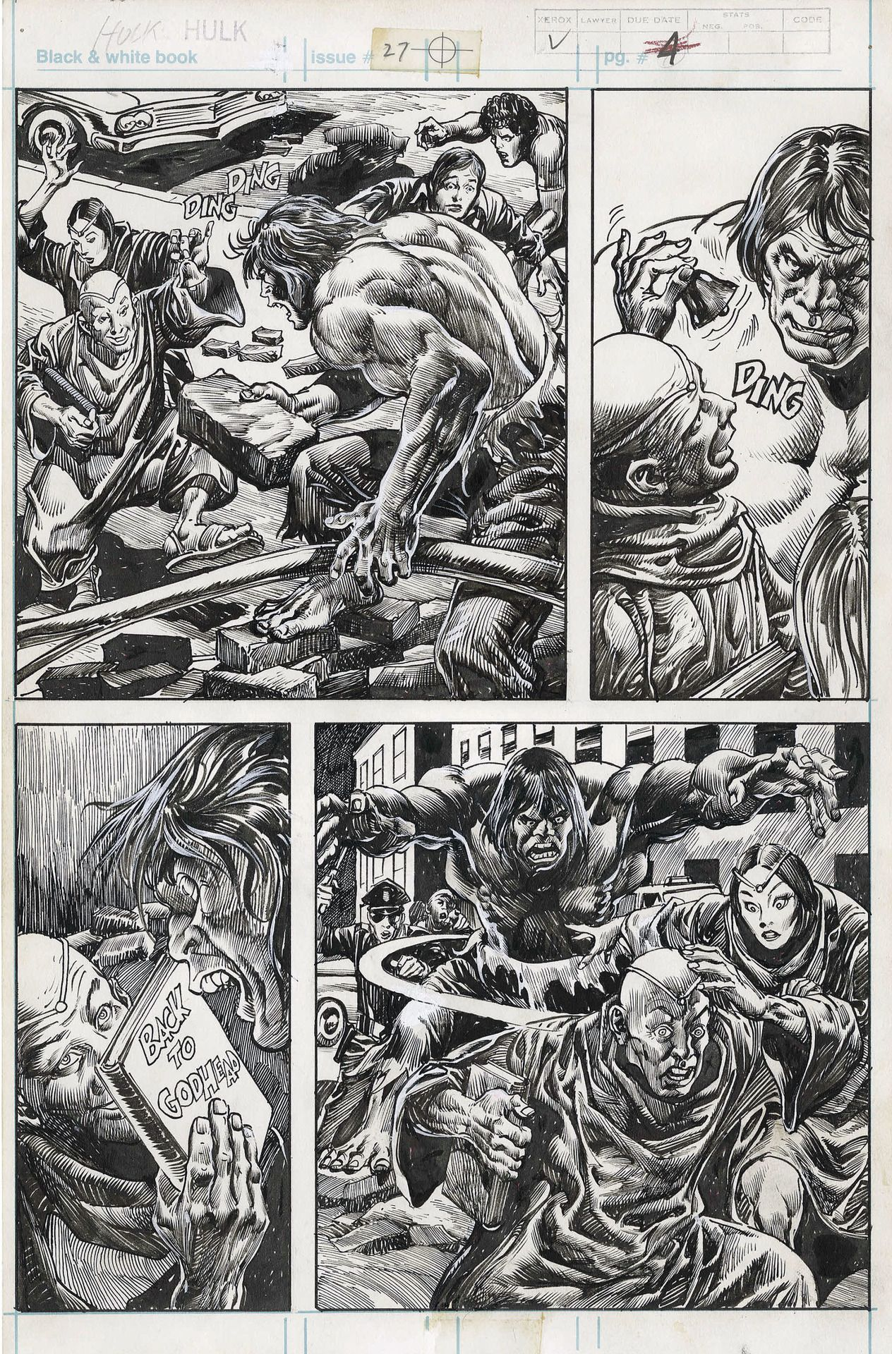 Original Page By Gene Colan Pencils And Alfredo Alcala