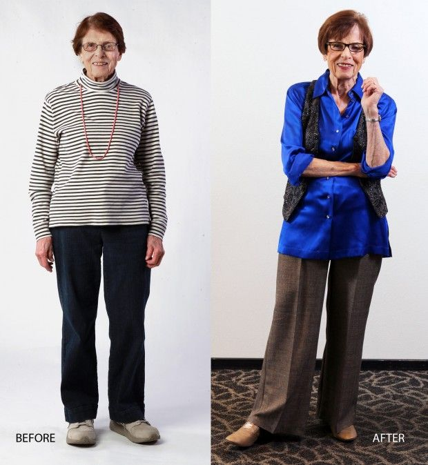 Senior before and after, San Clemente Villas from St Louis