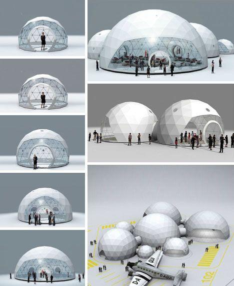 geodesic purity - Lightweight Living: Global 4-Season Geodesic Dome Homes