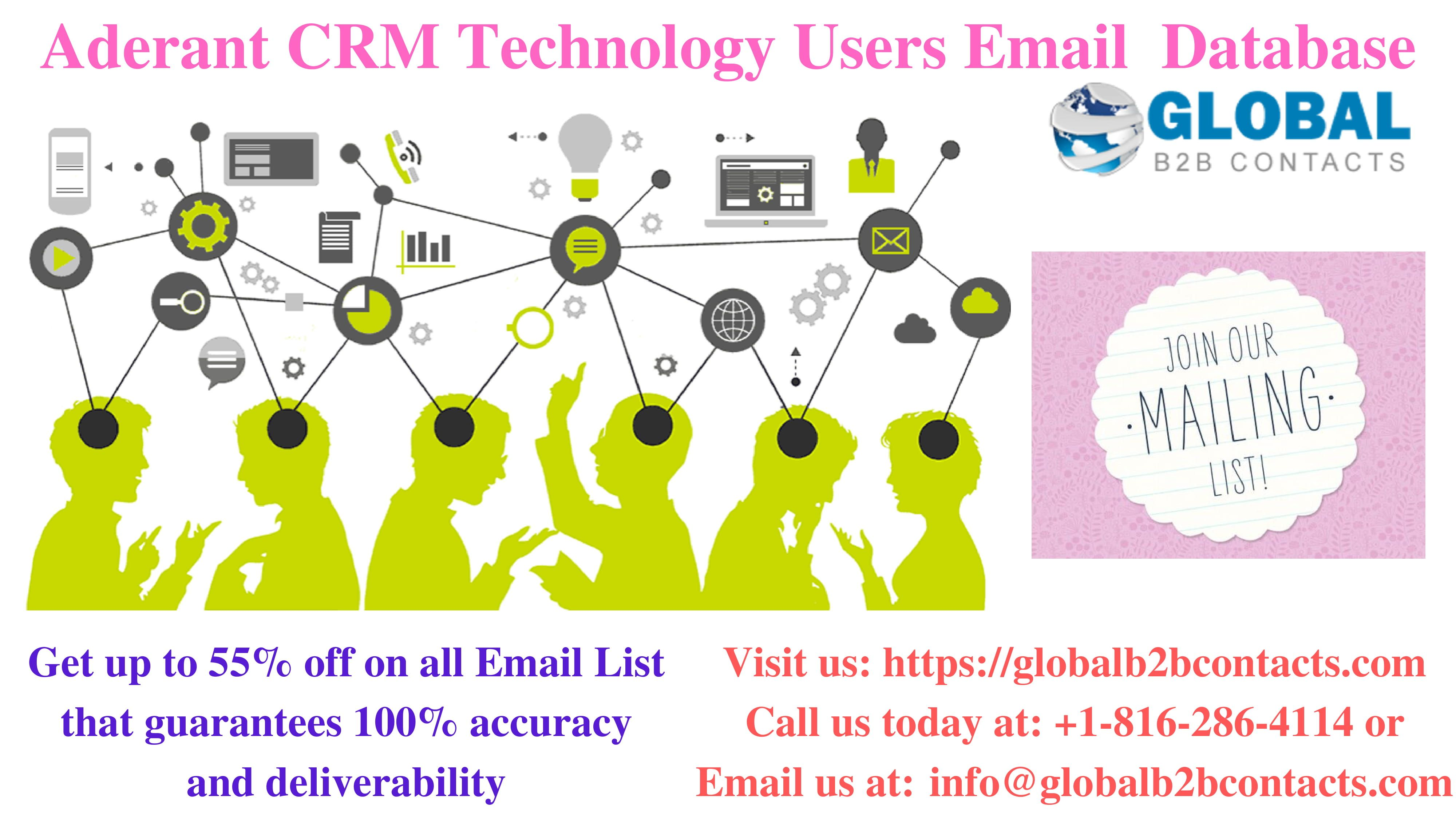 Our Aderant CRM Technology Users List that is stuffed with