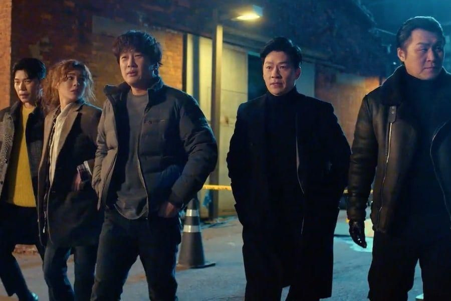 Watch: Cha Tae Hyun, Lee Sun Bin, And More Pretend To Be Cool For The Cameras In Teaser For Upcoming Crime Drama