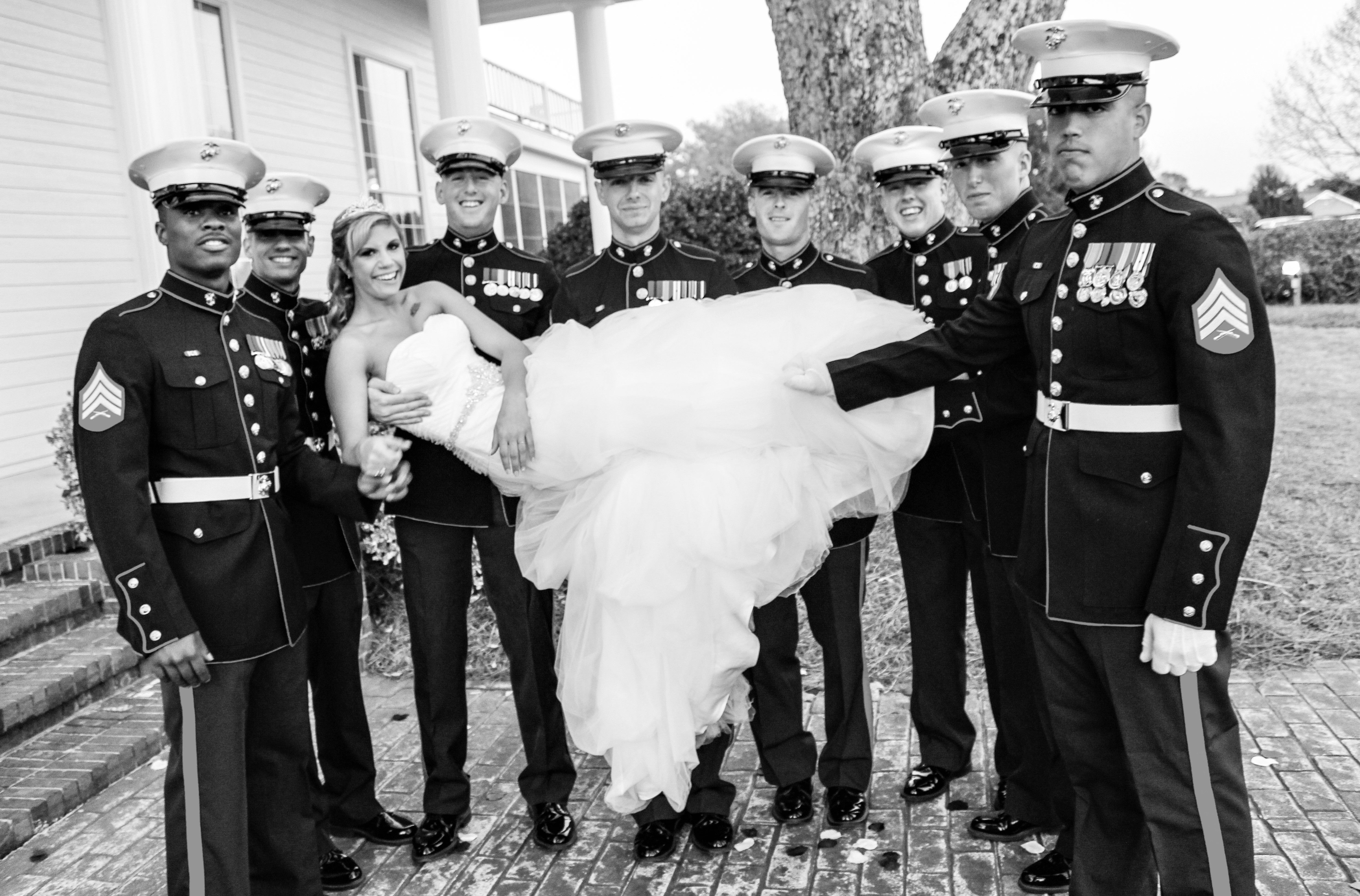 A Few Good Men Marine corps wedding, Wedding vows, My